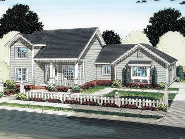 Two-Story House Plan, 059H-0130