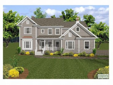 Traditional House Plan, 007H-0084