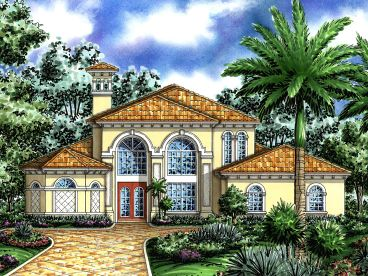 Luxury House Plan, 040H-0080