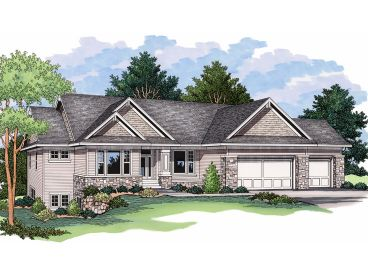 Waterfront House Plan, 023H-0145