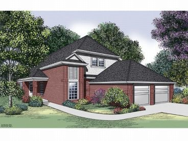 2-Story House Plan, 021H-0135