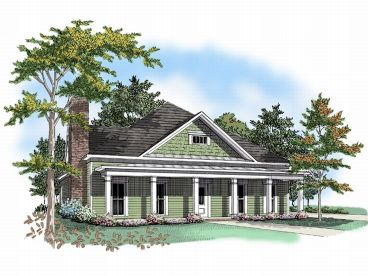 Ranch House Plan, 019H-0092