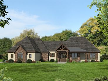 European House Plan, 062H-0134