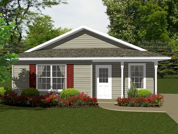 Cottage Home Plan, 004H-0099