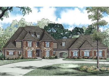 European House Plan, 025H-0266