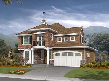 Two-Story Home Plan, 035H-0009