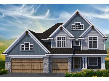 2-Story House Plan, 020H-0385