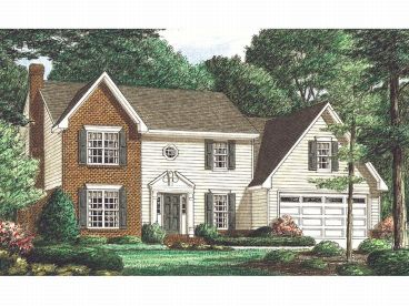 Two-Story Home Plan, 011H-0004