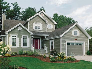 Country House Plan, 027H-0161
