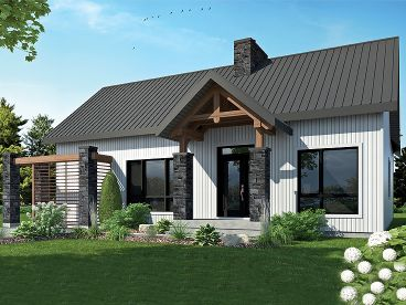 Small Ranch House Plan, 027H-0480