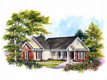 Traditional Home Design, 019H-0007