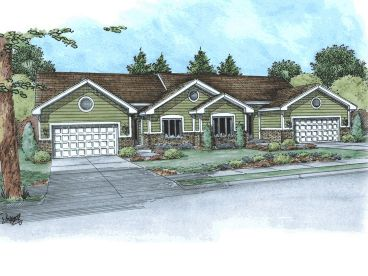 Multi-Family House Plan, 031M-0016