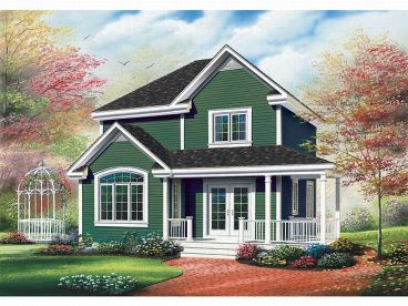 Country House Design, 027H-0131