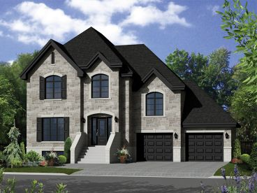 European House Plan, 072H-0152