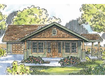 Ranch House Plan, 051H-0265