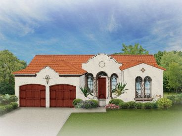 Sunbelt House Plan, 064H-0016