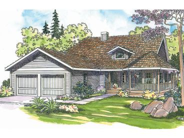 Country House Plan, 051H-0016