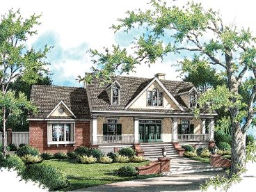 Southern Home Design, 021H-0216