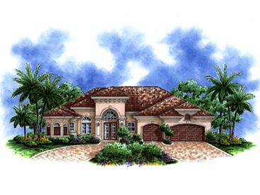 Florida Home Plan, 037H-0180
