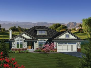 European Ranch Home, 020H-0295