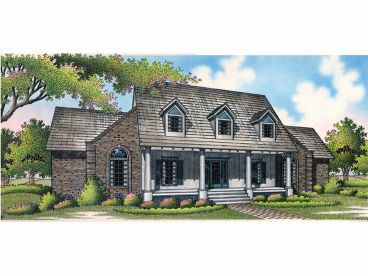 Southern Home Design, 021H-0132