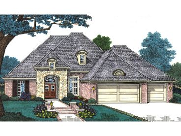 European House Plan, 002H-0094