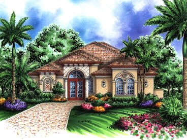 Floridian Home Design, 040H-0049