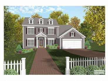 Cape Cod House Plan, 007H-0062