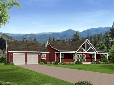 Country House Plan, 062H-0139