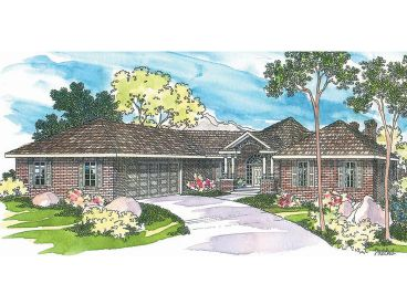 Unique Home Plan, 051H-0026