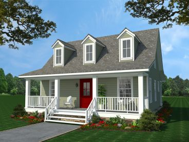 Narrow Lot House Plans   The House Plan ShopPlan H