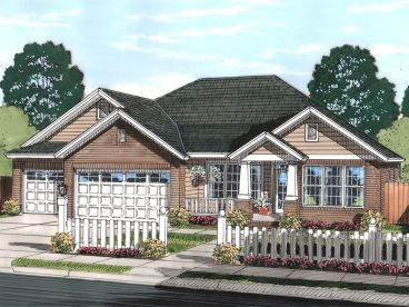 Ranch House Plan, 059H-0186