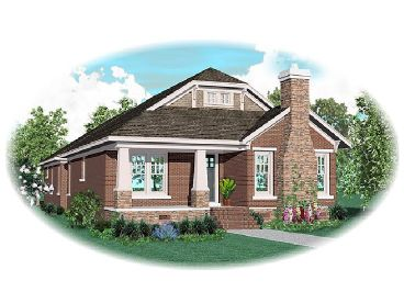 Craftsman Home Plan, 006H-0109