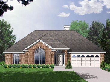 Traditional House Design, 015H-0029