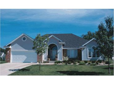 1-Story Home Plan Photo, 031H-0014