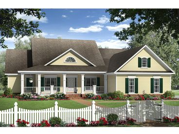 Country House Plan, 001H-0219