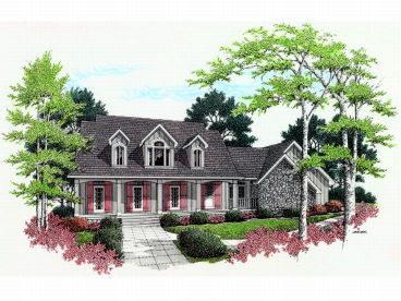 Country European Home, 021H-0172