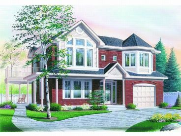 Multi-Generational Home Plan, 027M-0011