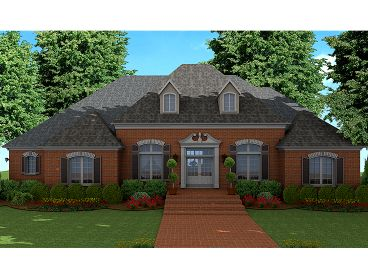 Luxury House Plan, 042H-0038