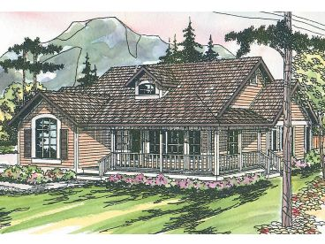 1-Story House Plan, 051H-0011