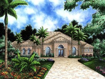 Premier Luxury Home Plan, 040H-0079