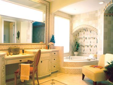 Master Bathroom Photo, 043H-0181
