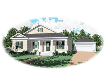 Country Home Plan, 006H-0060
