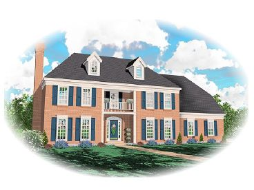2-Story Home Plan, 006H-0037