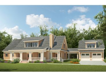 Country Craftsman Home, 019H-0184