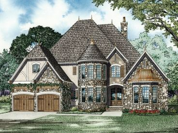 European House Plan, 025H-0160