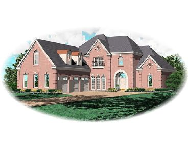 Luxury Home Plan, 006H-0131