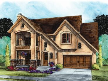 European House Plan, 031H-0305