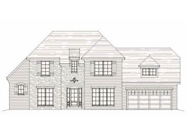 Two-Story Home Design, 061H-0083