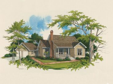 Country House Plan, 030H-0008